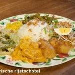 Rijstschotel Javaans eetcafé Groningen